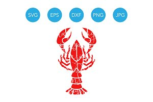 Lobster SVG Cutting File for Cricut