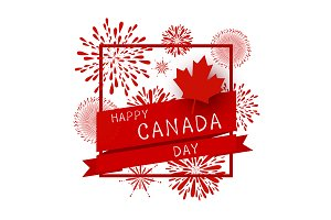 Canada day design