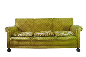 Ugly retro couch