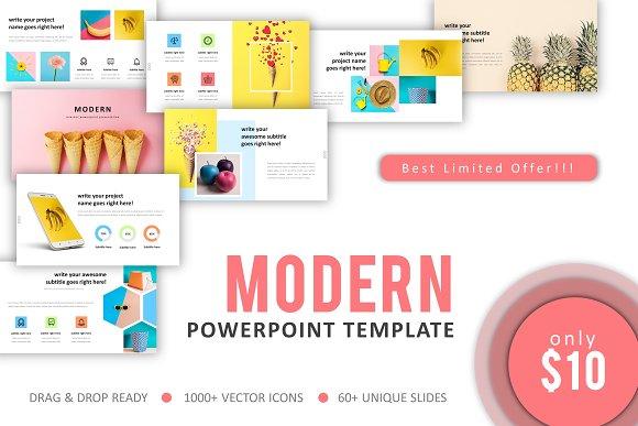 Modern Minimal Powerpoint