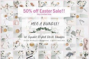 Mega Bundle- 60 Stock Photos Insta