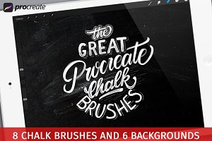 The Great Procreate Chalk Brushpack