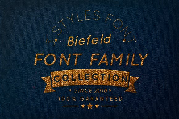 Biefeld Font Family