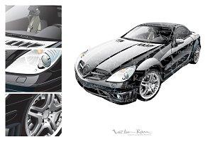 Black Sport Car
