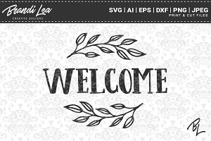 Welcome SVG Cut Files