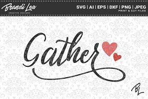 Gather SVG Cut Files