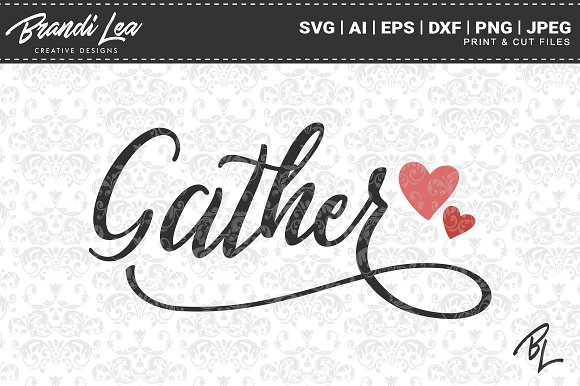 Gather SVG Cut Files