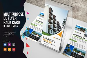 Rack Card DL Flyer Design v1
