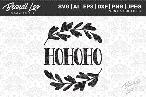 Hohoho SVG Cut Files