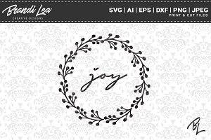 Joy SVG Cut Files