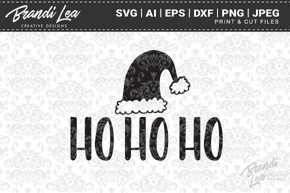 Hohoho SVG Cut Files