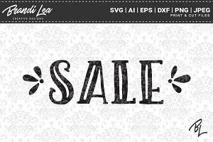 Sale SVG Cut Files