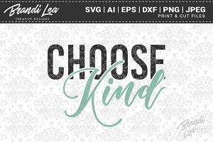 Choose Kind SVG Cut Files