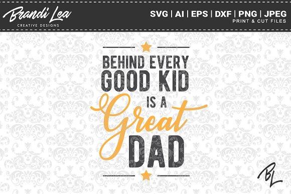 Great Dad SVG Cut Files