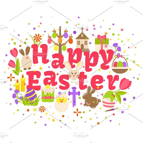 Happy Easter Celebration Card