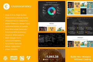 Cryptocurrency WordPress Theme