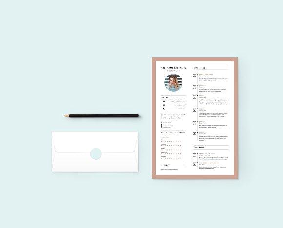 Minimal Sophisticated Resume CV