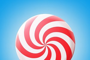 Big spiral lollipop