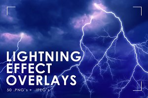 Lightning Effect Overlays
