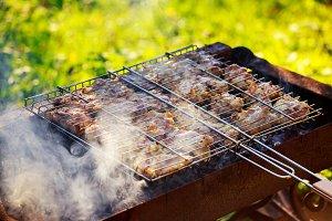 Spicy marinated chicken drumsticks