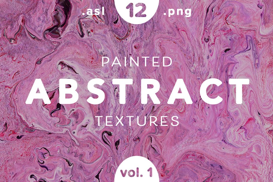 Painted Abstract Textures and Styles