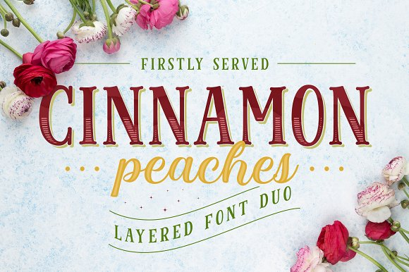 Cinnamon Peaches