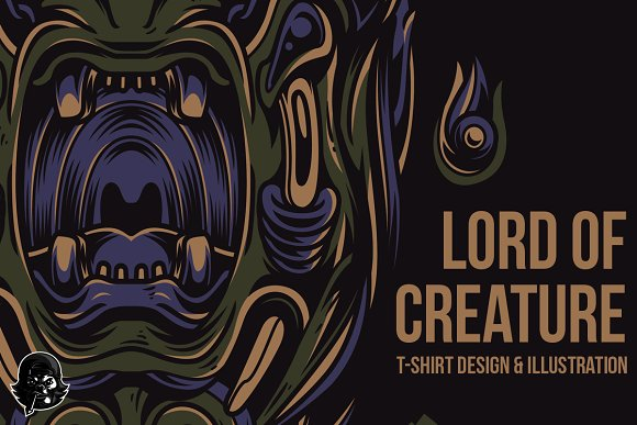 Lord Of Creature Illustration