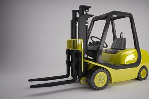 Counter Balance Fork Lift Truck