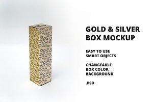 Gold & Silver Box Mockup v1