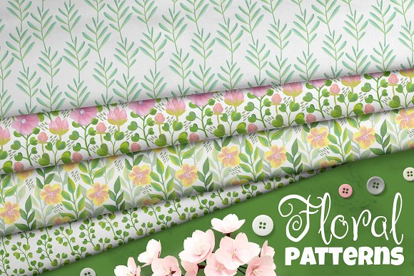 Floral Pattern Collection