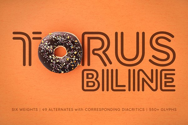 Torus Biline –6 Font Family