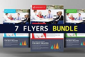 7 Corporate Business Flyer Bundle