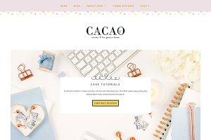 Cacao Minimal WP Genesis Theme