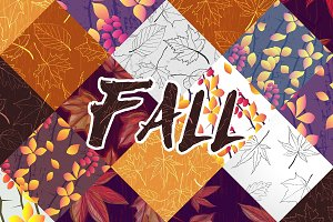 Leaf Fall Pattern Collection