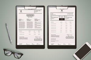 Invoicing Template (InDesign)