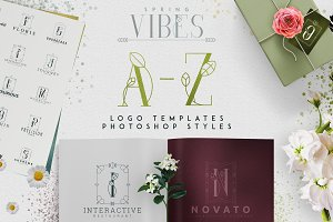 [Spring Vibes] A-Z logo designs -50%
