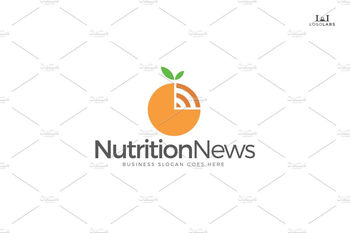 Nutrition News Logo ~ Logo Templates ~ Creative Market