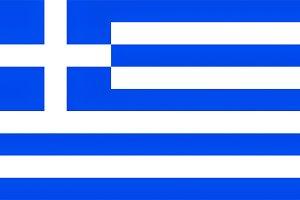 Greece flag, texturised