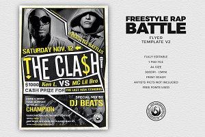 Freestyle Rap Battle Flyer V2