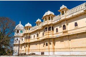 Fateh Prakash Mahal Palace at Chittorgarh Fort - Rajastan, India