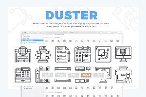 700 Concept line icon design