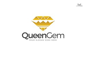 Queen Gem Logo