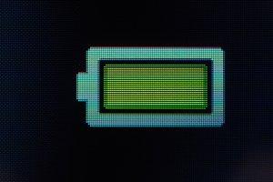 battery full sign