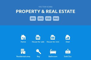 Property & Real Estate Icons