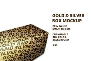 Gold & Silver Box Mockup v3