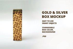 Gold & Silver Box Mockup v4