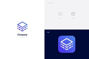Data + Global Logo Template