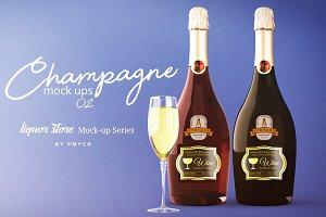 Champagne Mockup 02