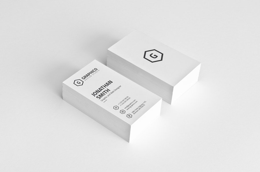 Simple Modern Business Card - 23 ~ Business Card Templates ...