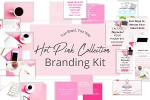 Hot Pink Collection Branding Kit